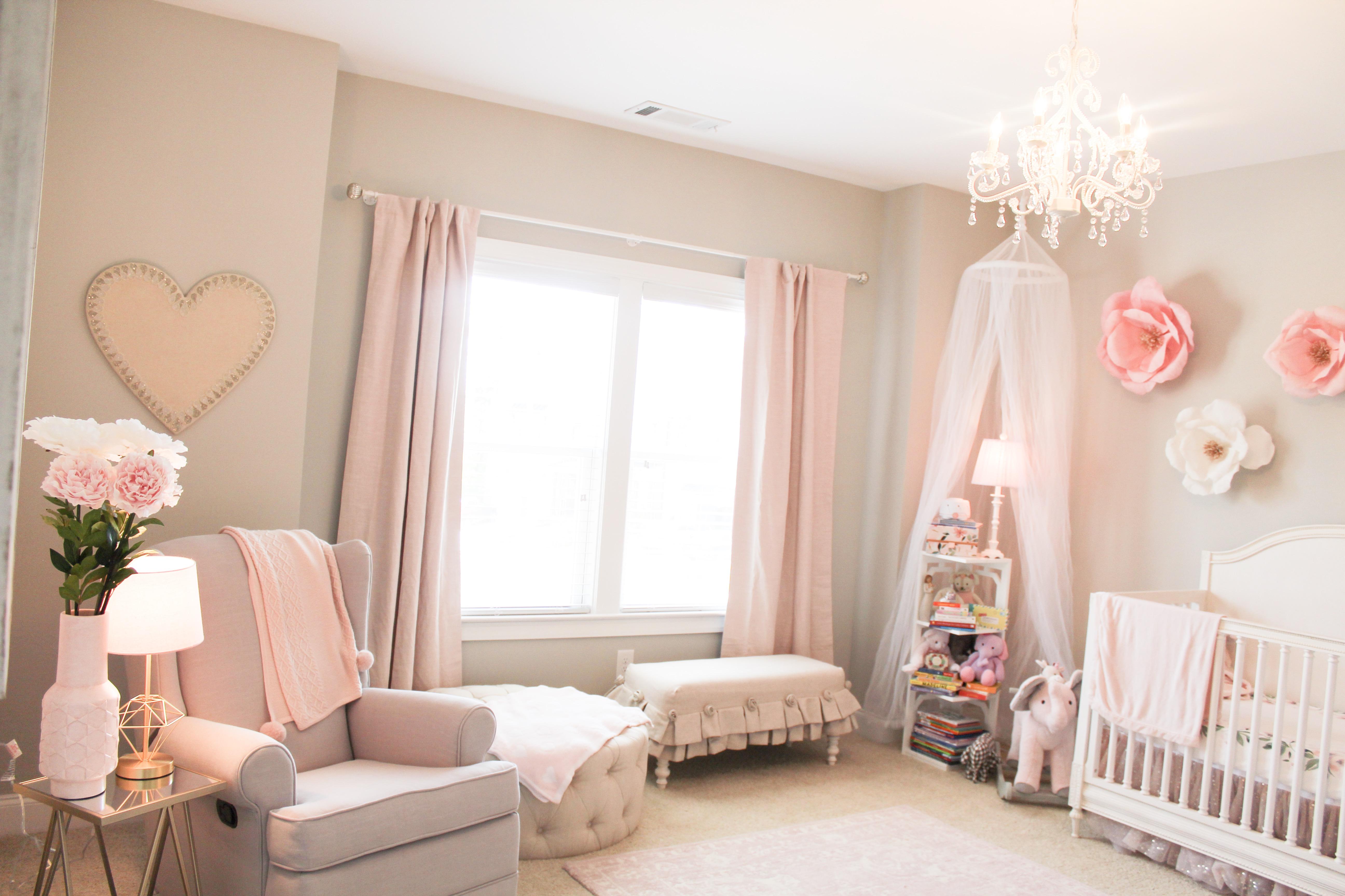 Baby Girl S Nursery